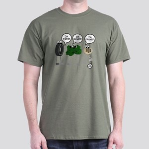 I'm Tired Bushed Drained Pooped Dark T-Shirt