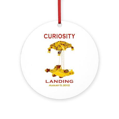 Mars Landing Team Ornament (Round)