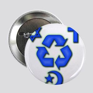 """Recycled ideas 2.25"""" Button"""
