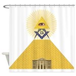 The Lodge and Eye Shower Curtain