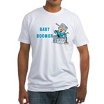 MUSICAL BABY BOOMER Fitted T-Shirt
