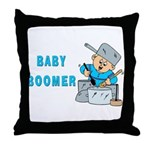 MUSICAL BABY BOOMER Throw Pillow