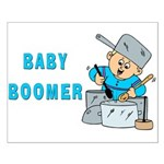 MUSICAL BABY BOOMER Small Poster