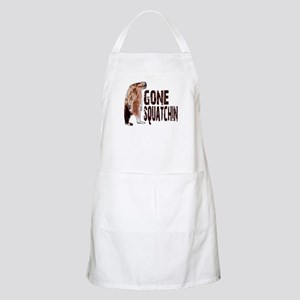 Authentic Bobo GONE SQUATCHIN Apron