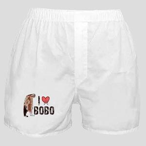I Love Heart <3 Bobo Boxer Shorts