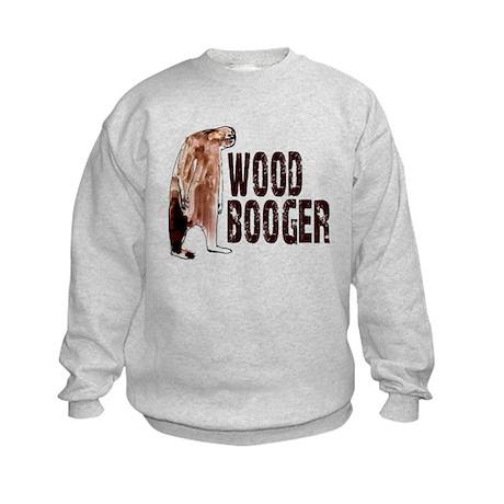 Woodbooger Sasquatch Kids Sweatshirt
