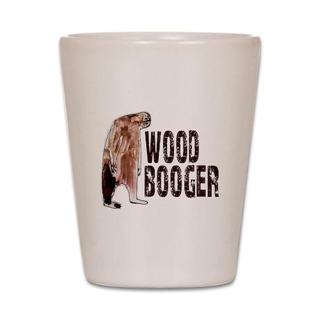 Woodbooger Sasquatch Shot Glass