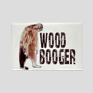 Woodbooger Sasquatch Rectangle Magnet