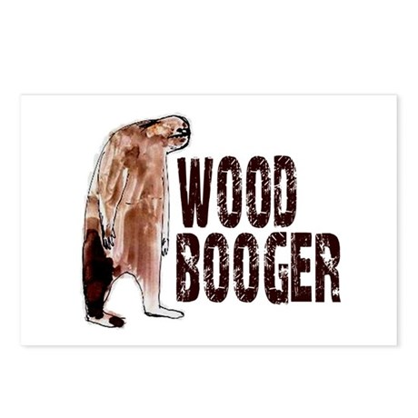 Woodbooger Sasquatch Postcards (Package of 8)