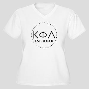 Kappa Phi Lambda Women's Plus Size V-Neck T-Shirt