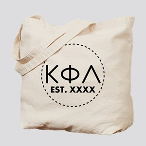 Kappa Phi Lambda Circle Tote Bag
