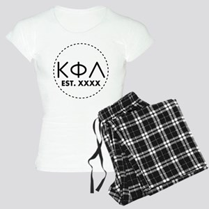 Kappa Phi Lambda Circle Women's Light Pajamas