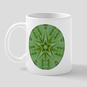 Aloe Star Mandala Mug
