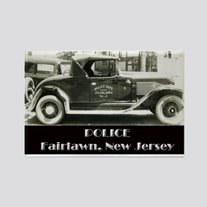 Fairlawn Police Rectangle Magnet