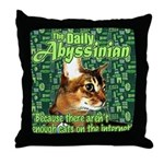 Aby-a-Day Throw Pillow