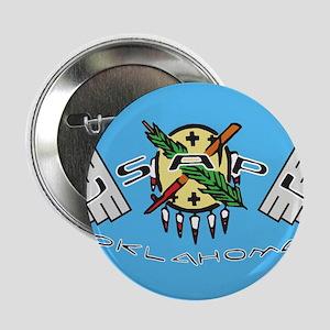 """USAPL Oklahoma Logo 2.25"""" Button"""