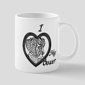 B@W Boxer 3 Mug