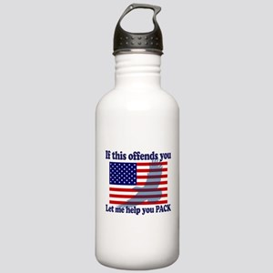 Flag Eagle Patriot Stainless Water Bottle 1.0L