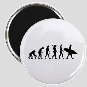 Evolution surfing Magnet