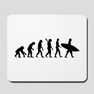 Evolution surfing Mousepad
