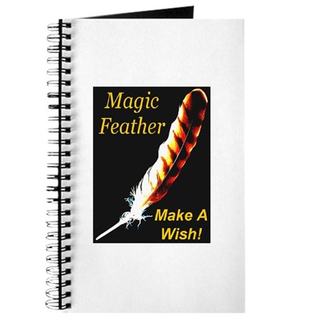 Magic Feather Make A Wish Journal