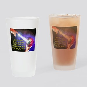 Jehovah Still Threatens the Planet Drinking Glass