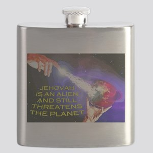 Jehovah Still Threatens the Planet Flask