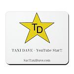 TD YouTube Star Mousepad