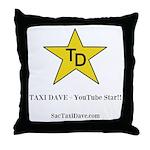 TD YouTube Star Throw Pillow