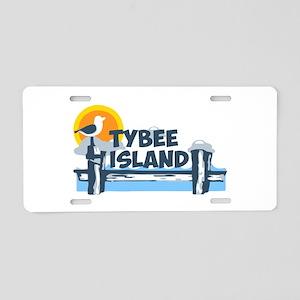 Tybee Island GA - Pier Design. Aluminum License Pl