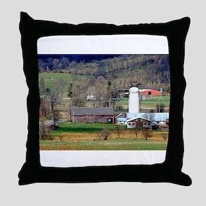 American Barns No.8 Throw Pillow
