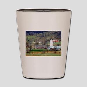 American Barns No.8 Shot Glass