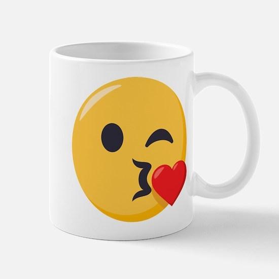 Kissing Emoji Mug