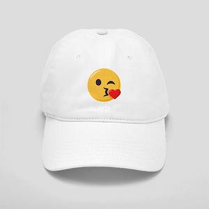 Kissing Emoji Cap