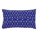 Blue Nautical fish pattern Pillow Case
