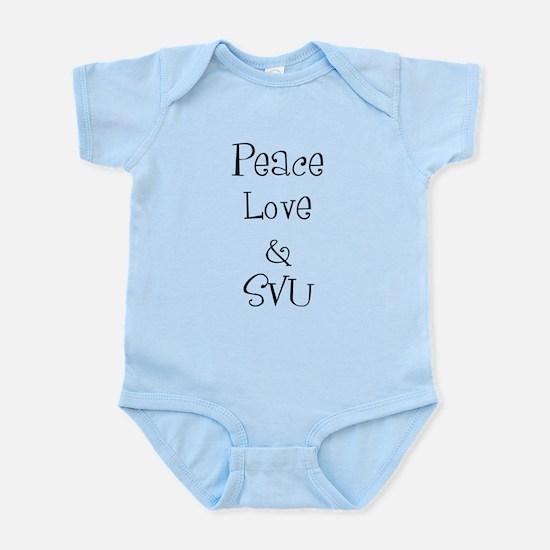 Peace Love Infant Bodysuit