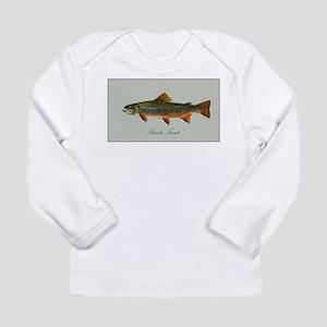 Brook Trout Long Sleeve Infant T-Shirt