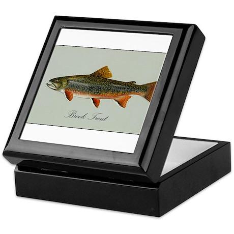 Brook Trout Keepsake Box