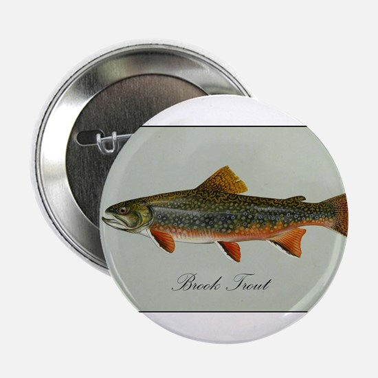 "Brook Trout 2.25"" Button"