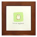 future egghead Penguin Framed Tile