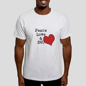 Peace Love & SVU Light T-Shirt