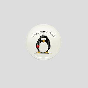 Teachers Pet Penguin Mini Button