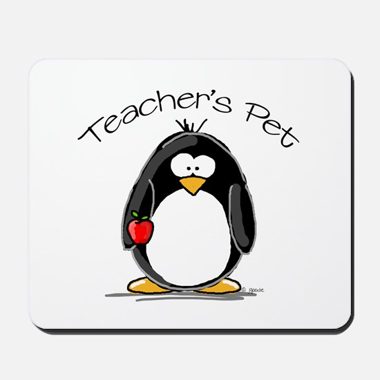 Teachers Pet Penguin Mousepad
