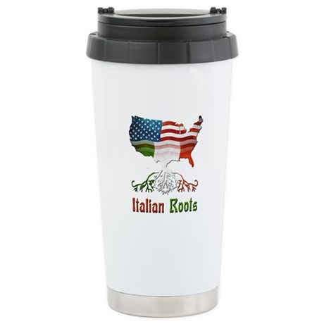 American Italian Roots Stainless Steel Travel Mug