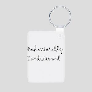 Behaviorally Conditioned Aluminum Photo Keychain
