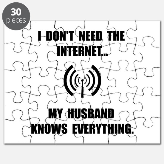Husband Knows Everything Puzzle