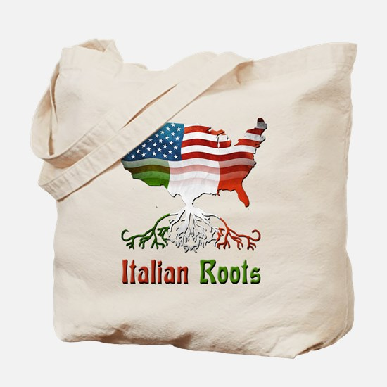 American Italian Roots Tote Bag