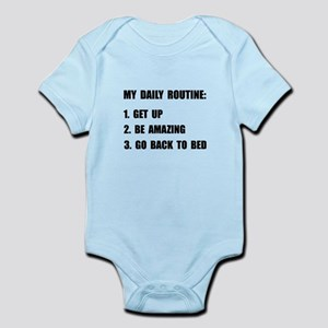 Daily Routine Infant Bodysuit