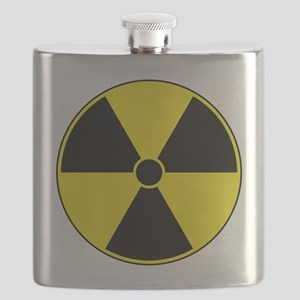Radiation Symbol Flask