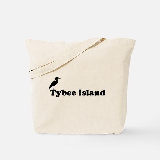 Tybee Island GA - Beach Design. Tote Bag